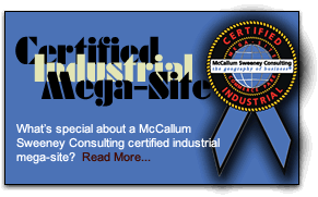 Certified Industrial Mega-Site